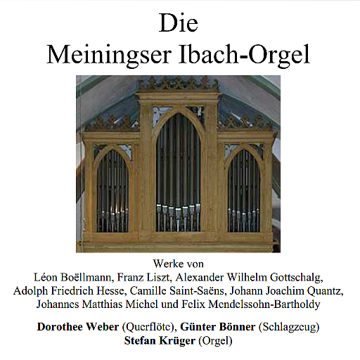 Cover Orgel-CD